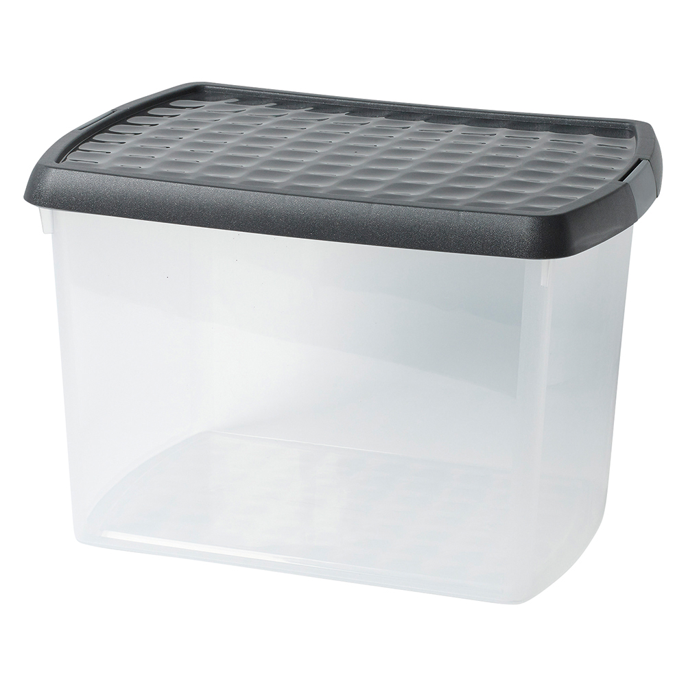 Business Premium Clip Box Plastic 21.5 Litre