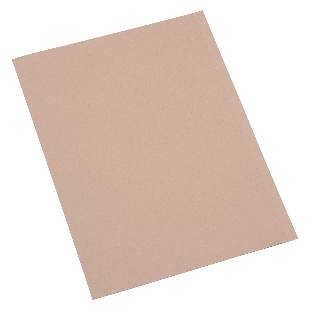 Business Eco Slip File A4 250gsm Recycled Buff [Pack 50]