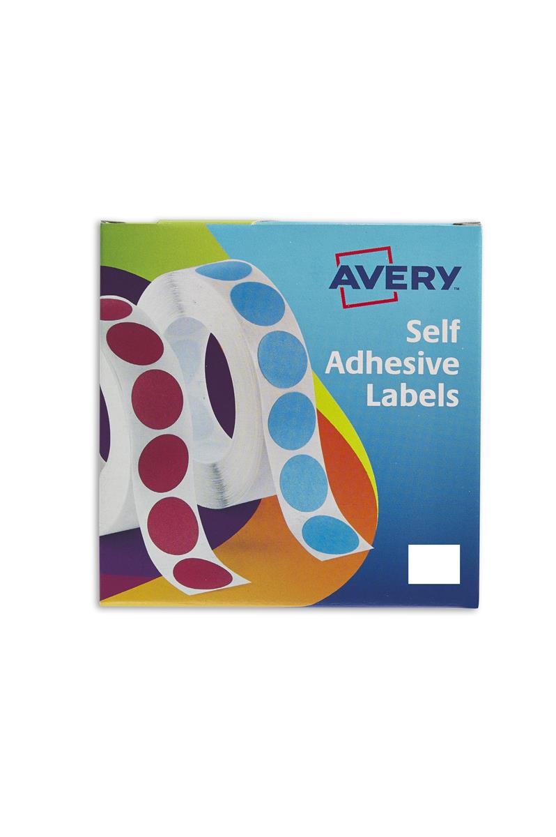 Image for Avery Label Dispenser for 19x25mm White Ref 24-421 [1200 Labels]