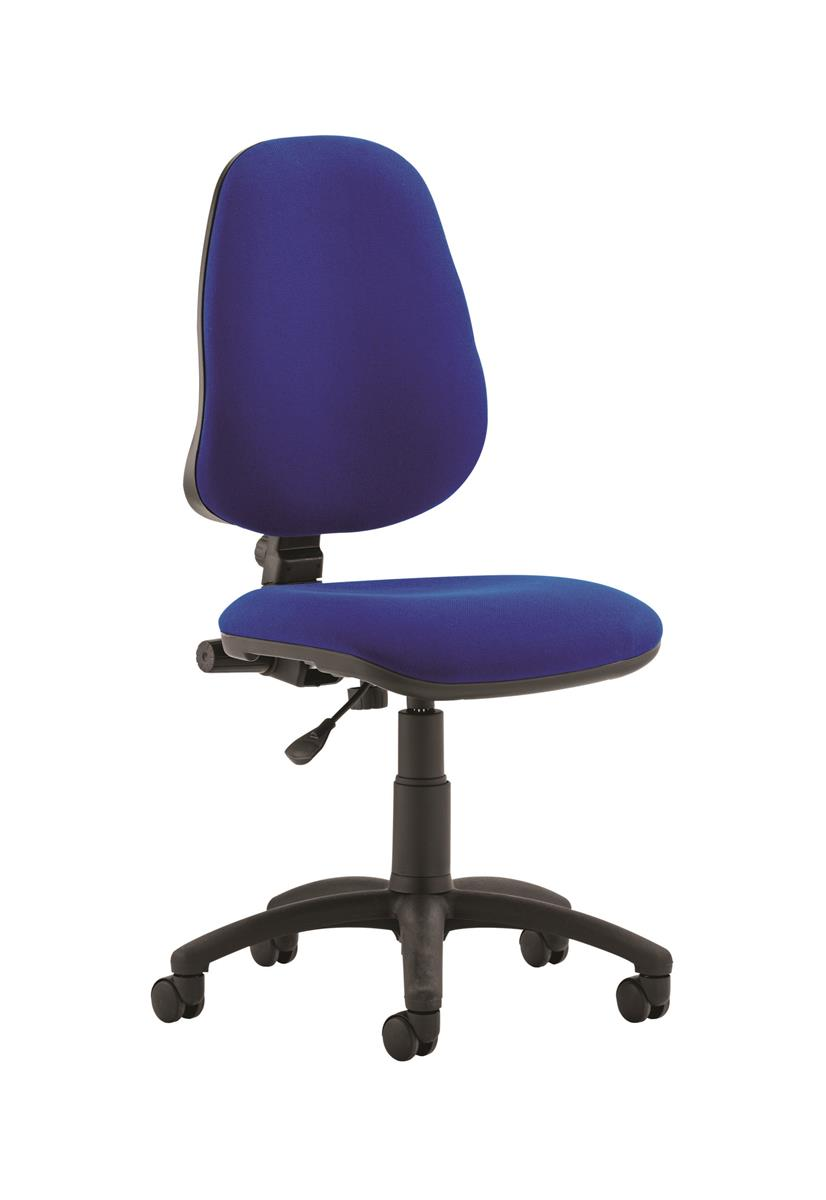 Image for Trexus Office Chair High Back Adjustable PCB Blue