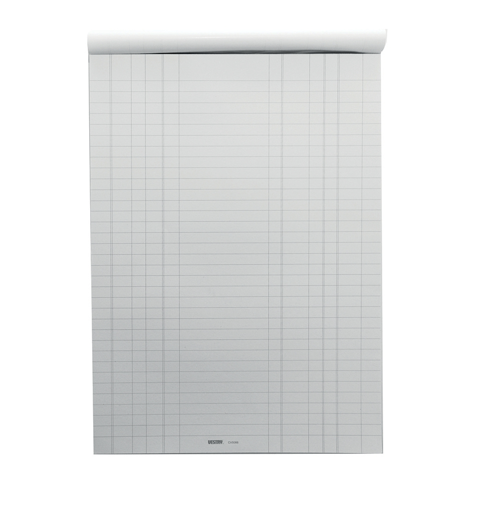 Image for Vestry Survey and Engineering Pad Double Bill Headed with Feints 60gsm 100 Sheets A4 Ref CV5066