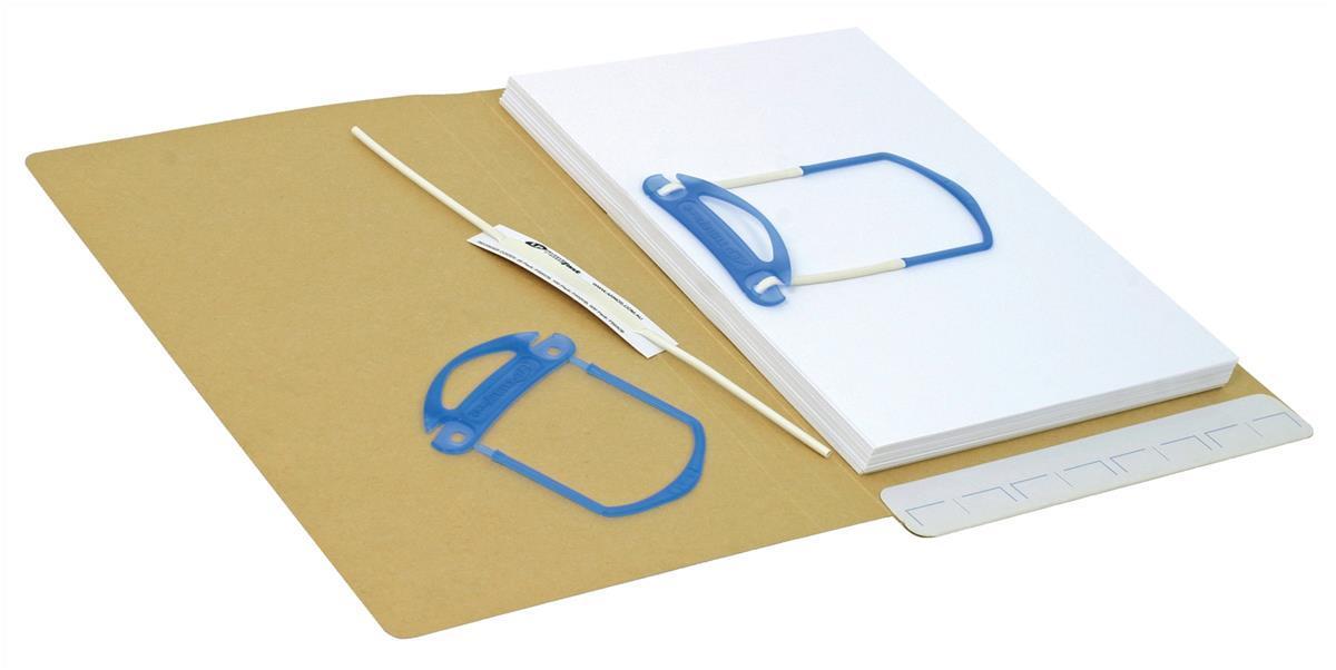 Image for File Fastener Self Adhesive 3 Part [Pack 100]