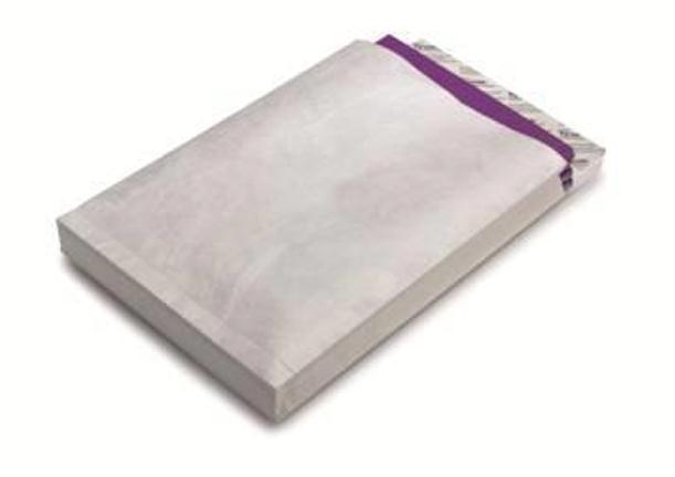 Image for Tyvek Gusseted Envelopes Extra Capacity Strong E4 H406xW305xD50mm White Ref 67184 [Pack 20]