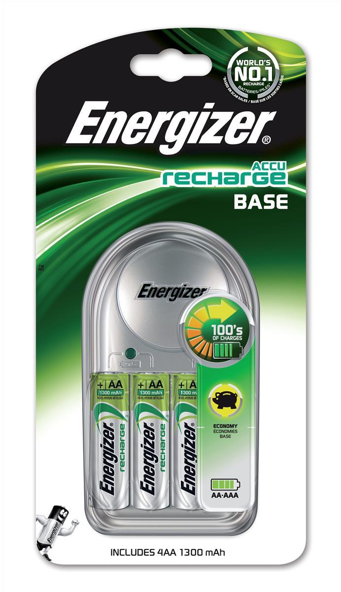 Image for Energizer Value Battery Charger for AA AAA Includes 4xAA 1300mAh Batteries Ref 633157
