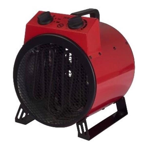 Igenix Industrial Drum Heater 3 Settings 3kW 5.4kg Red/Black Ref IG9301