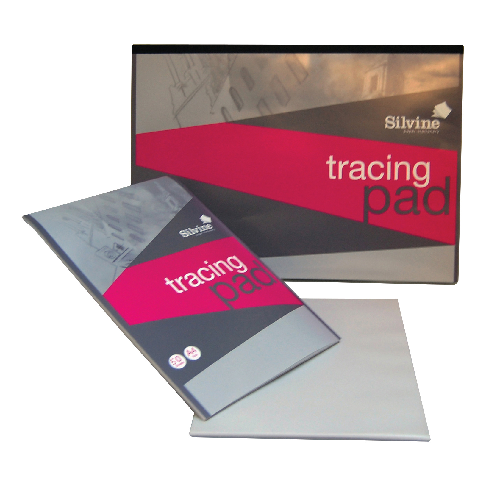Silvine Tracing Pad Acid Free Paper 50gsm 50 Sheets A4 COMPETITION