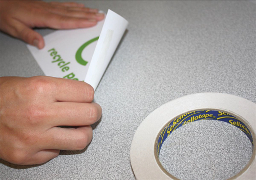 Sellotape Double Sided Tape 12mm x 33m Ref 1447057 [Pack 12]