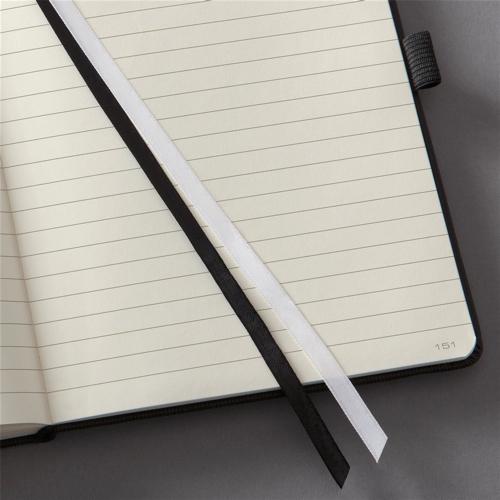 Sigel Conceptum Notebook Hard Cover Elastic Fastener 80gsm Ruled 194pp A4 Plus Ref CO116