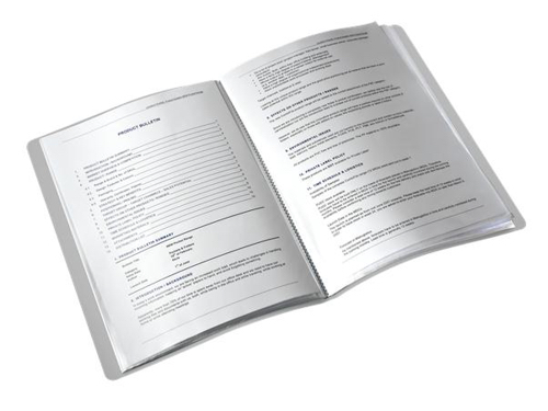 Leitz Style Display Book Soft Polypropylene 40 Pockets Black Ref 39590094