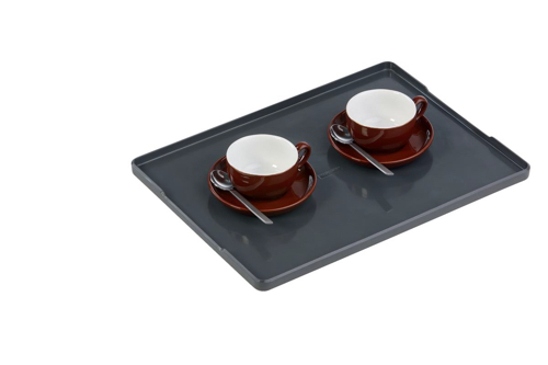 Durable Coffee Point Serving Tray Charcoal Ref 338758