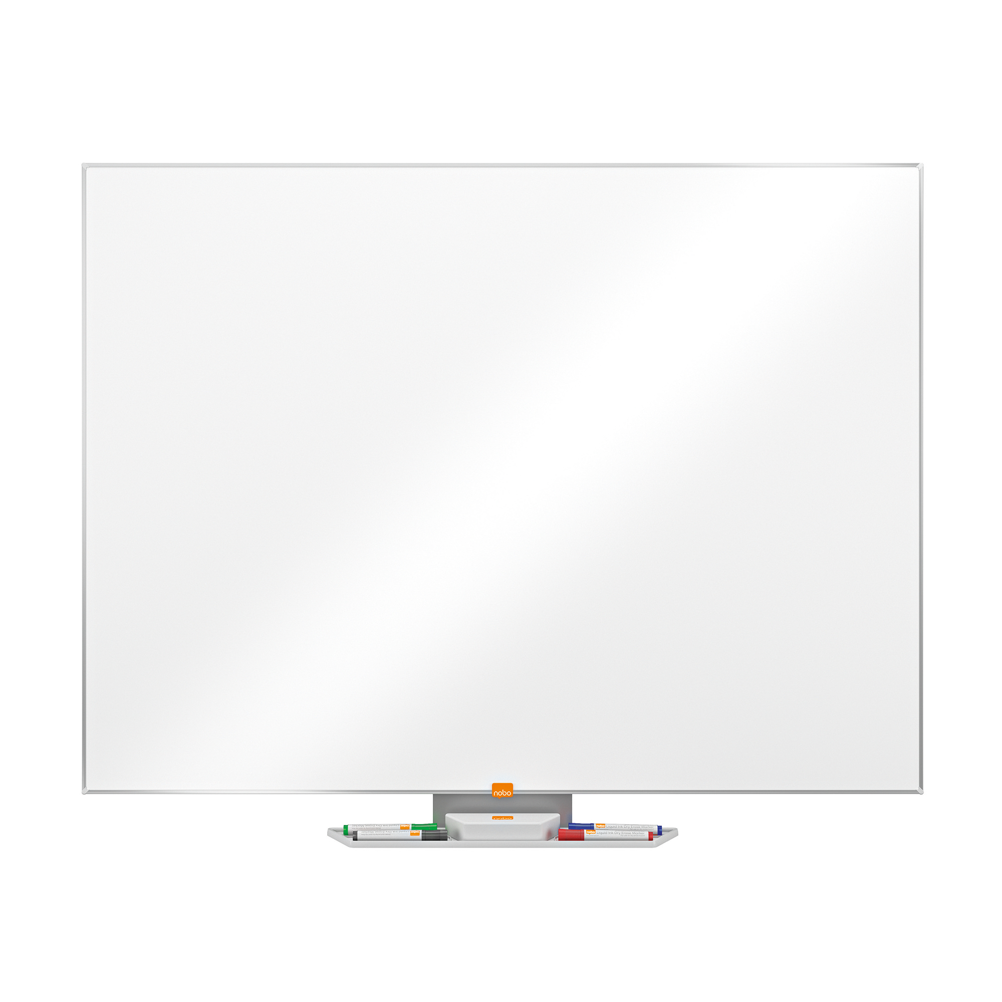 Nobo Classic Whiteboard Melamine Surface Non-magnetic Aluminium Trim W1200xH900mm White Ref 1905203