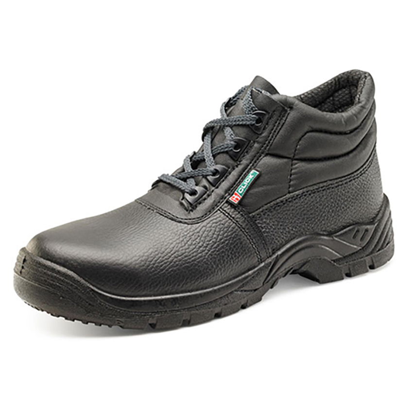 Chukka Boot Leather Midsole Protect STC Non-metallic Size 13 Black Ref CF50BL13 *Approx 3 Day Leadtime*