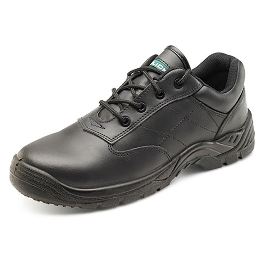 Composite Shoe Metal Free Safety Toecap & Midsole Size 3 Black Ref CF52BL03 *Approx 3 Day Leadtime*