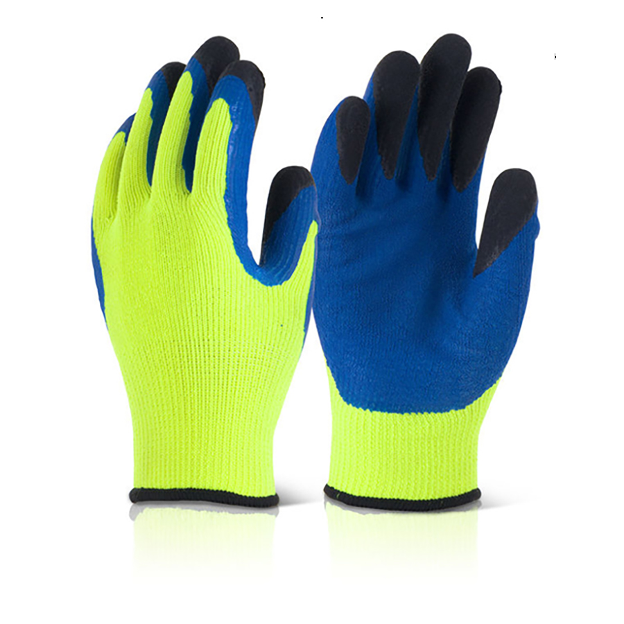Cold Environment Gloves Acrylic Textured Latex Palm Large *Approx 3 Day Leadtime*