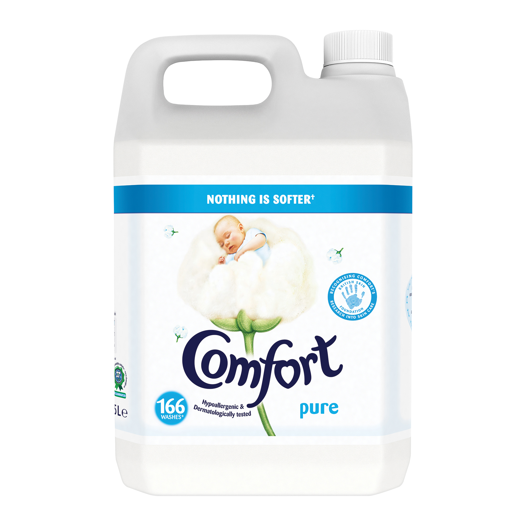 Image for Comfort Concentrated Fabric Softener 166 Washes 5L Ref 707822