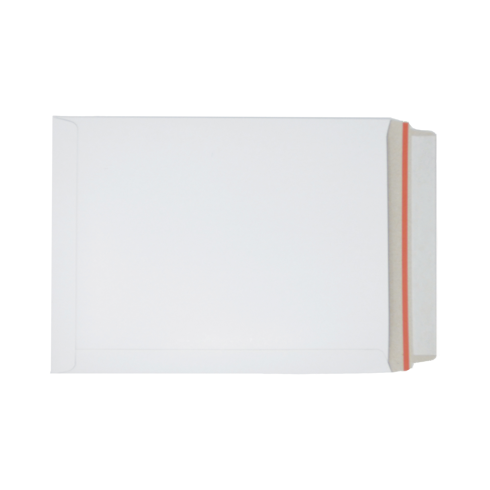 Specialty envelopes White Board Envelopes Peel & Seal C4+ 330x248mm White Ref AB10346 Pack 100