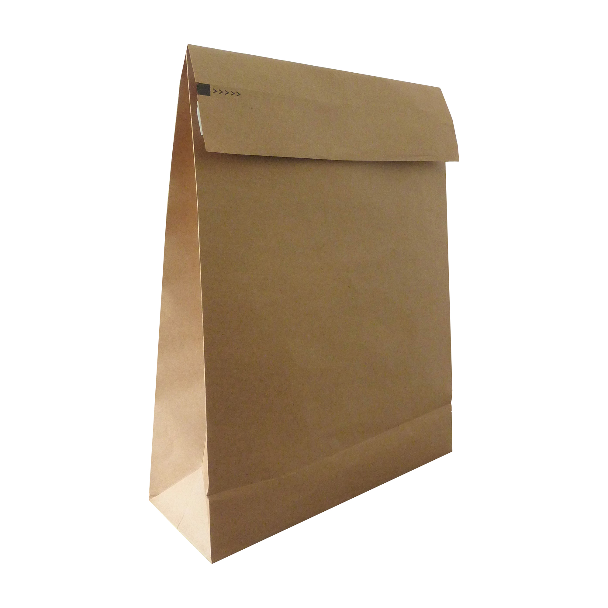 Standard envelopes Kraft Mlr Eco Expanding Block Btm & Side Gusset Dbl P&S 350x450x80mm+100 flap Man Ref RBL10529 Pack 50