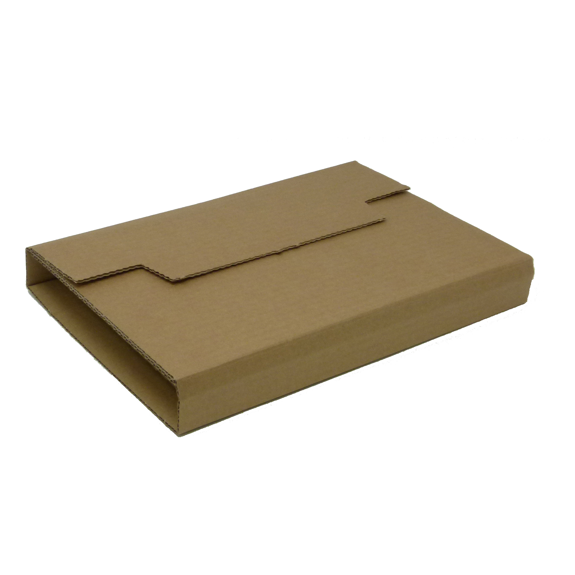 Mailing boxes Rigid Corrugated Postal Wrapper Small 250x180x50mm Manilla Ref RBL10535 Pack 25