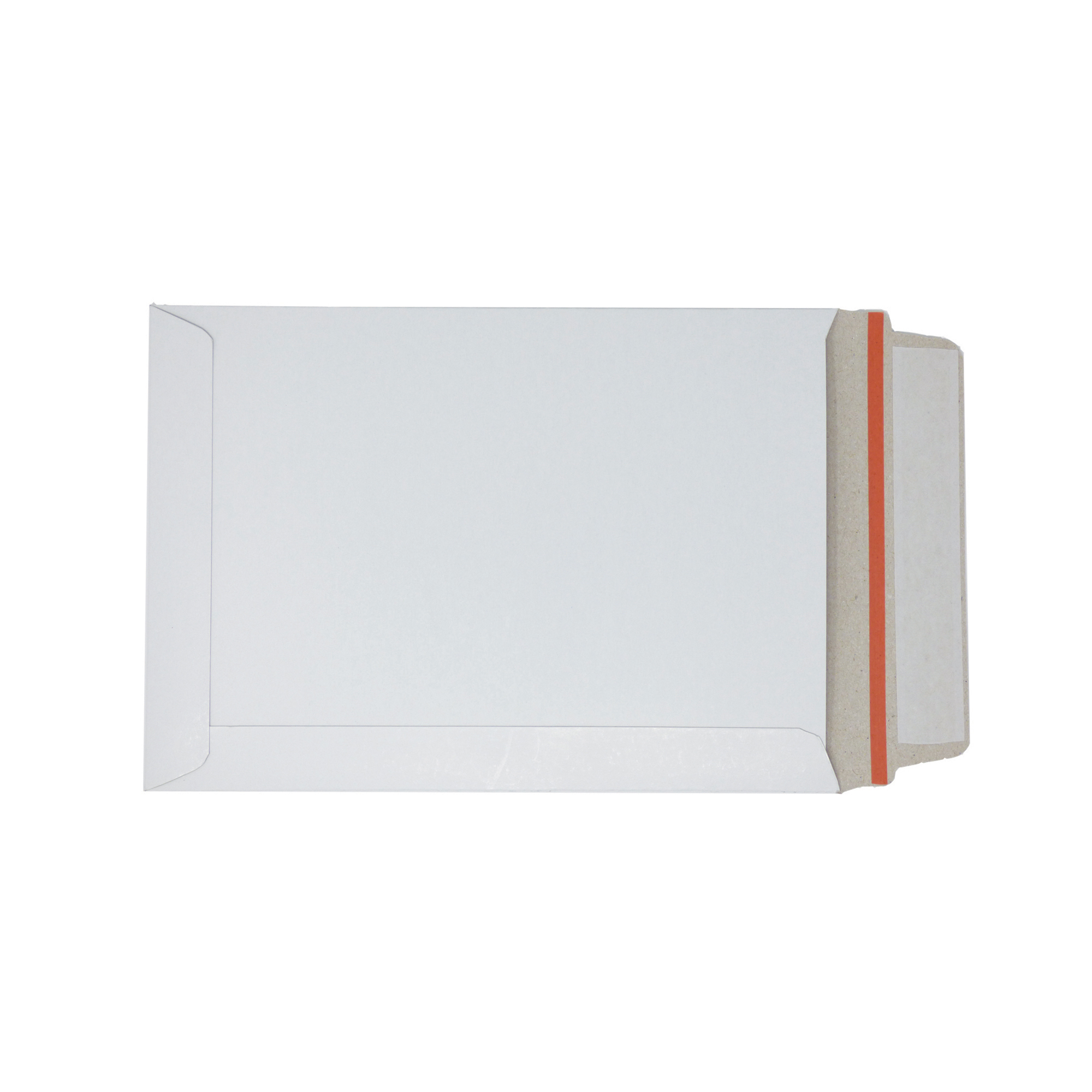 Specialty envelopes White Board Envelopes Peel & Seal C5+ 241x178mm White Ref AB10345 Pack 100