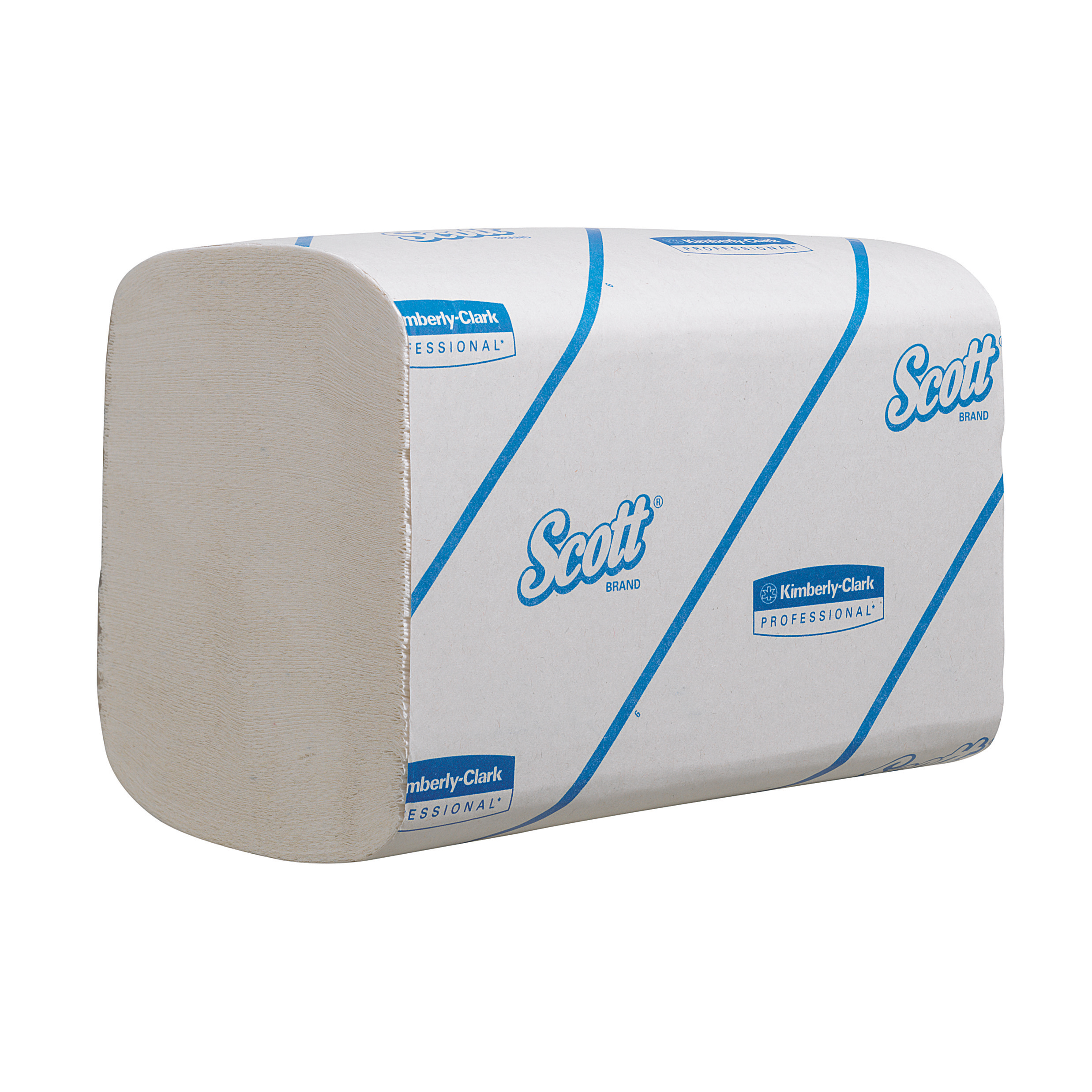 Scott Xtra Hand Towels White 1 Ply 210x200mm 320 Towels per Sleeve White Ref 6677 Pack 15 Sleeves