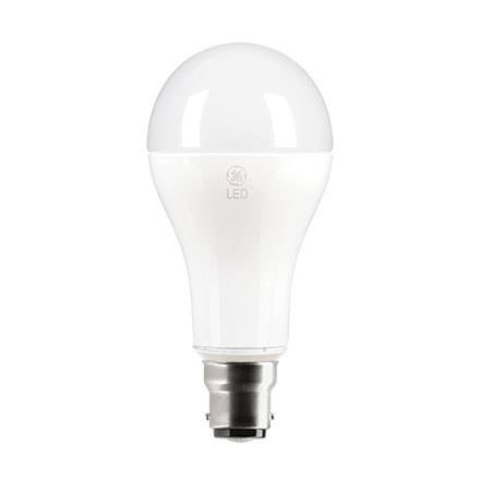 GE 16W B22 Start GLS LED Bulb 1521lm EEC-Aplus ExtWrmWhite Ref93064001 Up to 10 Day Leadtime