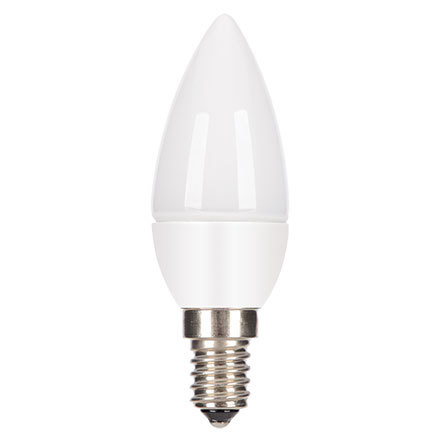 Tungsram 4.5W E14 Candle LED Bulb Dim 270lm EEC-Aplus 230V ExtWrmWhite Ref18500 *Up to 10 Day Leadtime*
