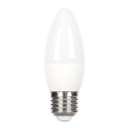 GE 6W E27 Candle LED Bulb Dimmable 470lm EEC-Aplus 230V ExtWrmWhite Ref84537 Up to 10 Day Leadtime