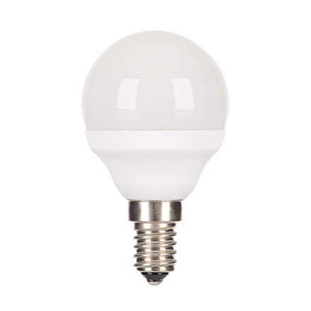 GE 4.5W E14 Spherical LED Bulb Dimmable 270lm EEC-Aplus 230V ExtWrmWhite Ref18613 Up to 10 Day Leadtime