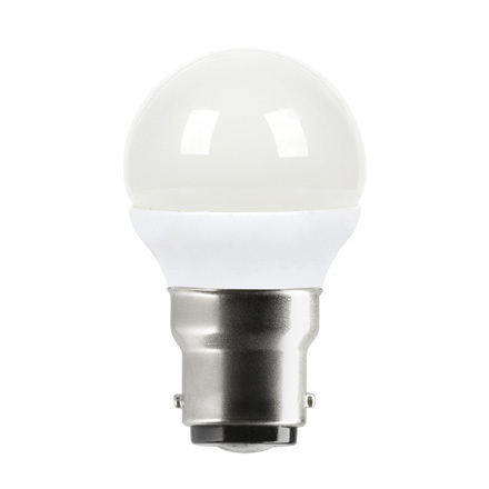 Tungsram 4.5W B22 Spherical LED Bulb Dim 270lm EEC-A+ 230V ExtWrmWhite Ref18616 *Up to 10 Day Leadtime*