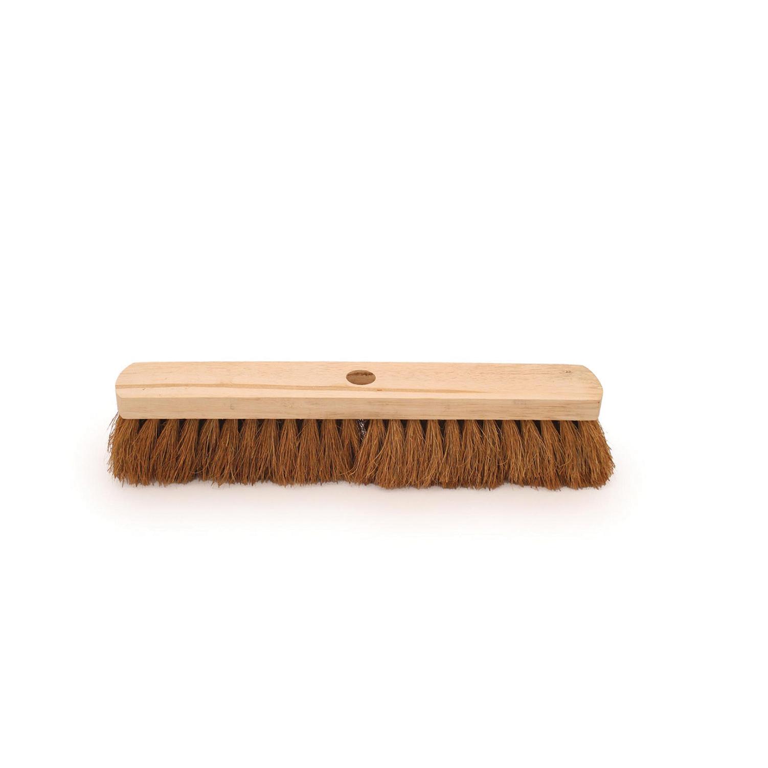 Bentley Natural Coco Broom Head  18in Soft Brush Ref SPC/G.01/FN