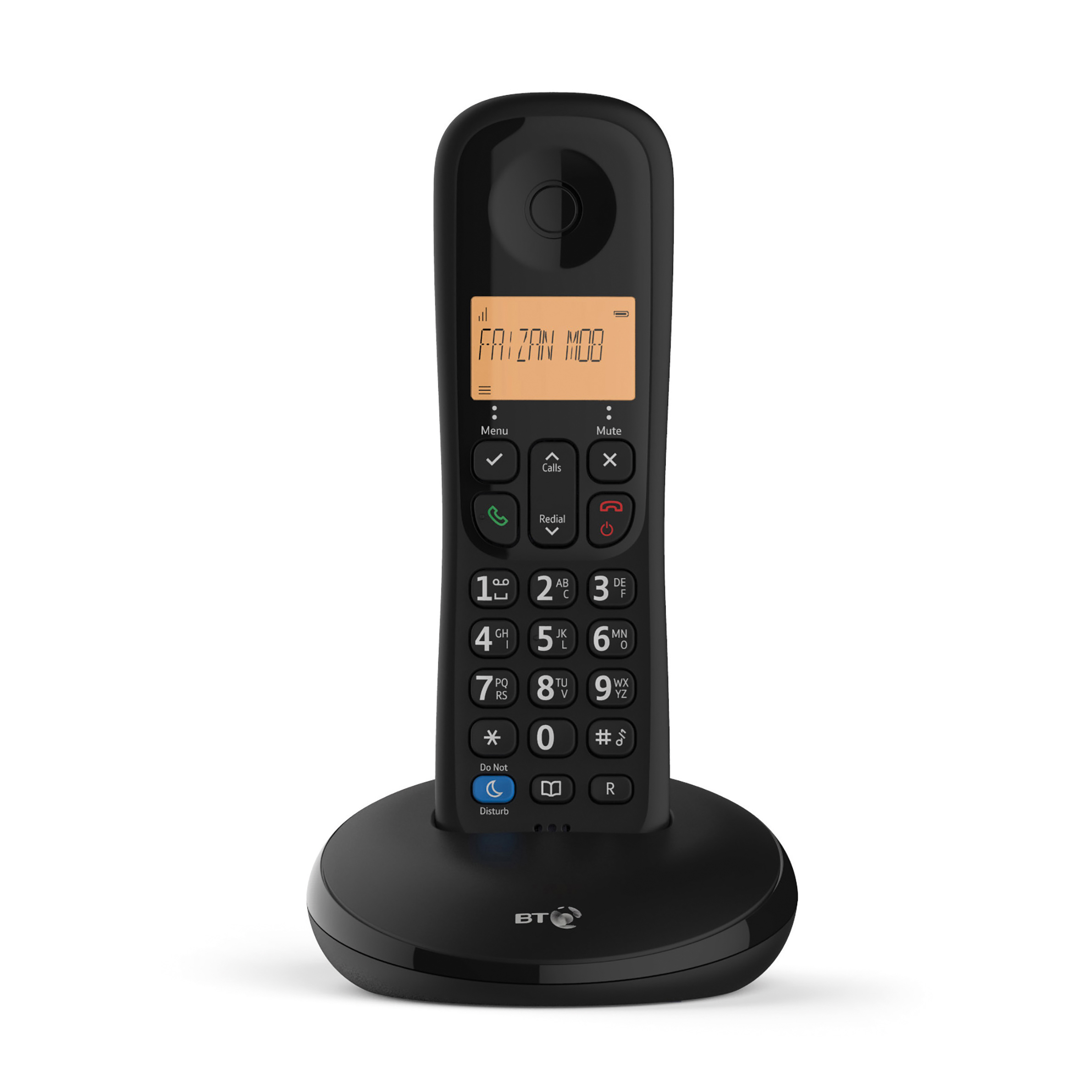 Phone handsets BT Everyday 1 Telephone 50 Contact Caller ID Storage Single Black Ref 90665