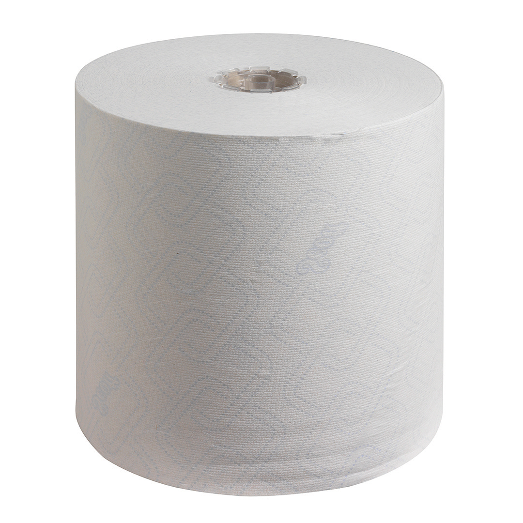 SCOTT 6620 Control Hand Towel Roll 250m 1-Ply White Ref 6620 [Pack 6]
