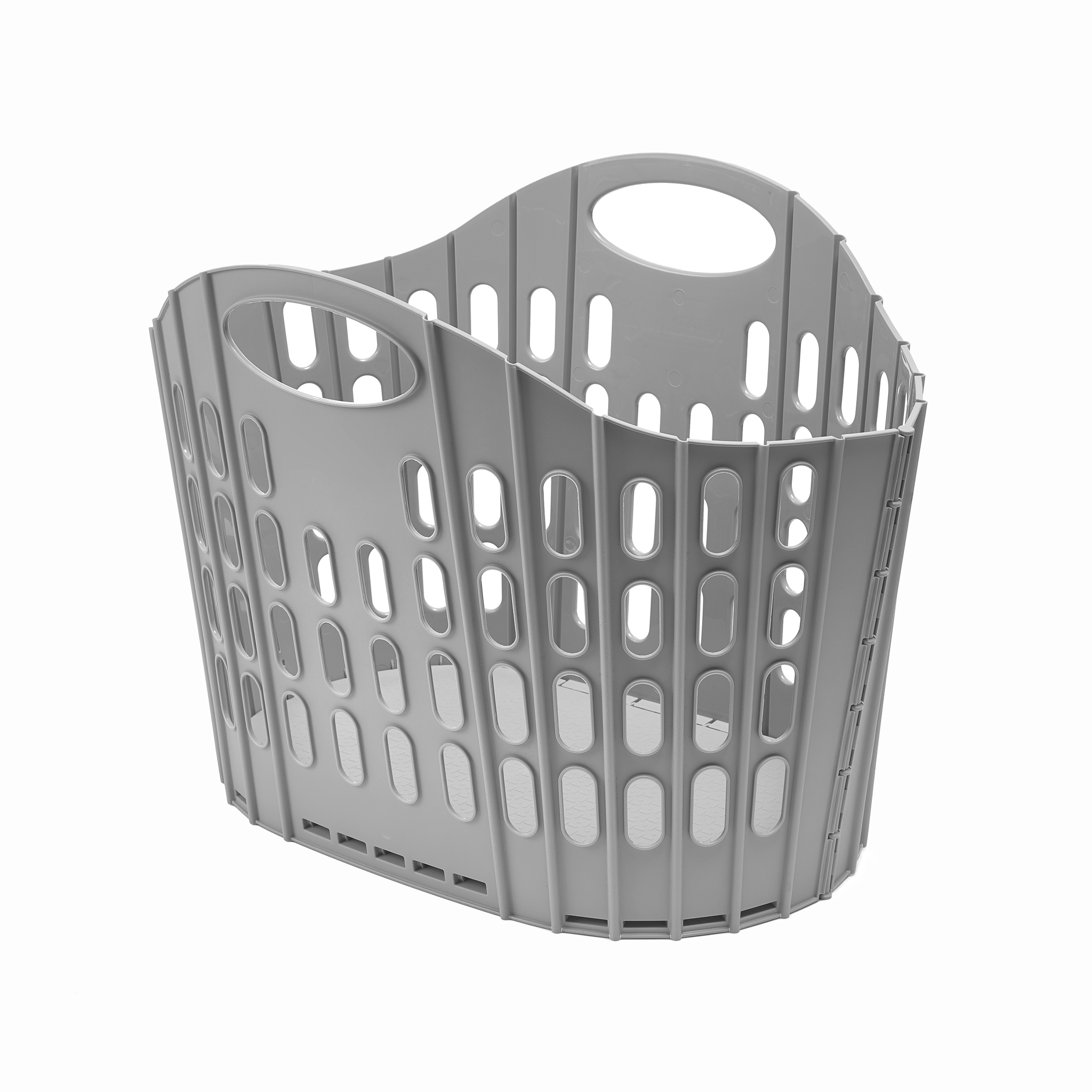 Laundry Basket Addis Fold Flat Large 38 Litre Laundry Basket Ref 518163