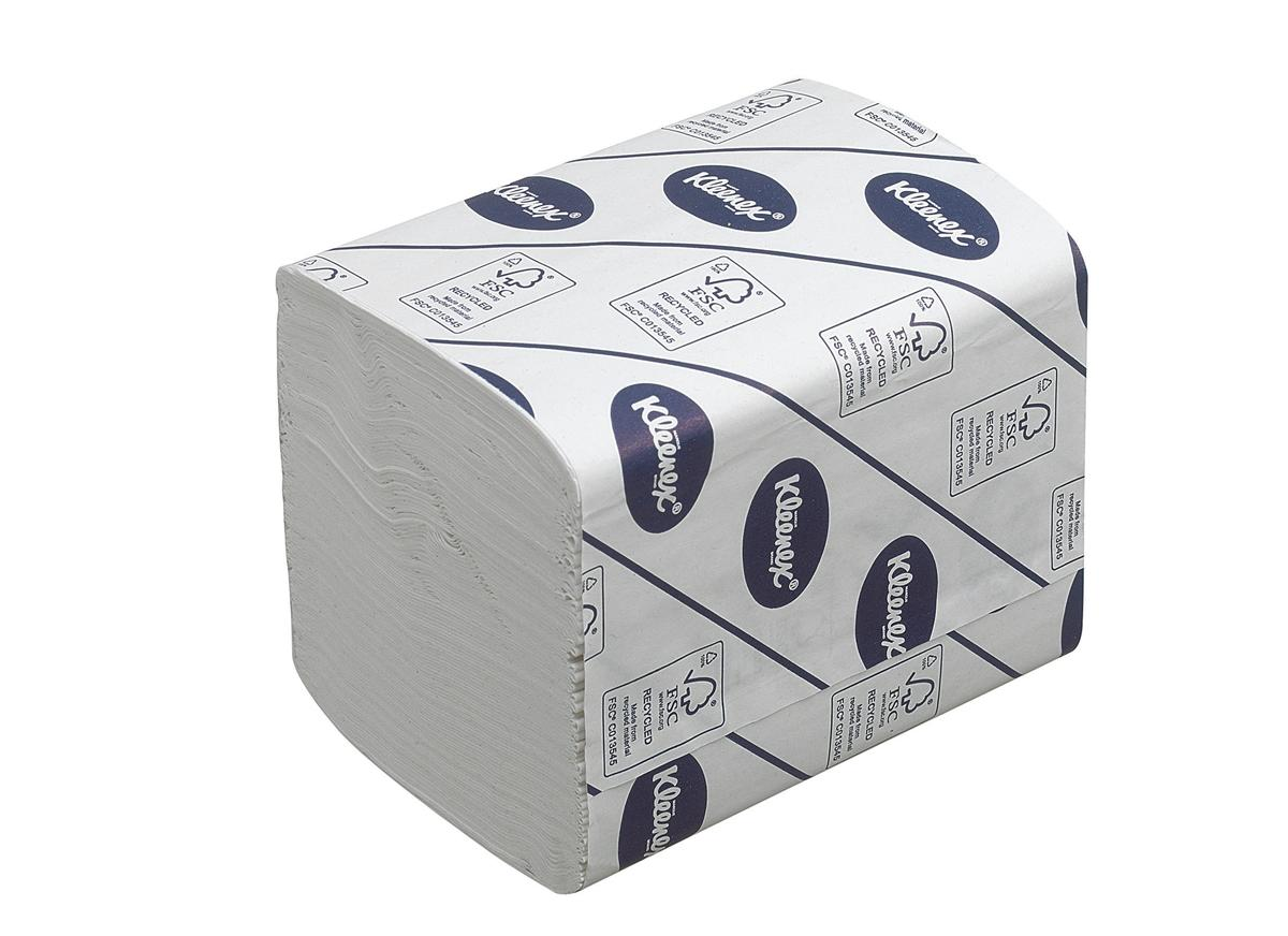Kleenex Bulk Pack Toilet Tissue Two-Ply 260 Sheets White Ref 4477 [Pack 27]