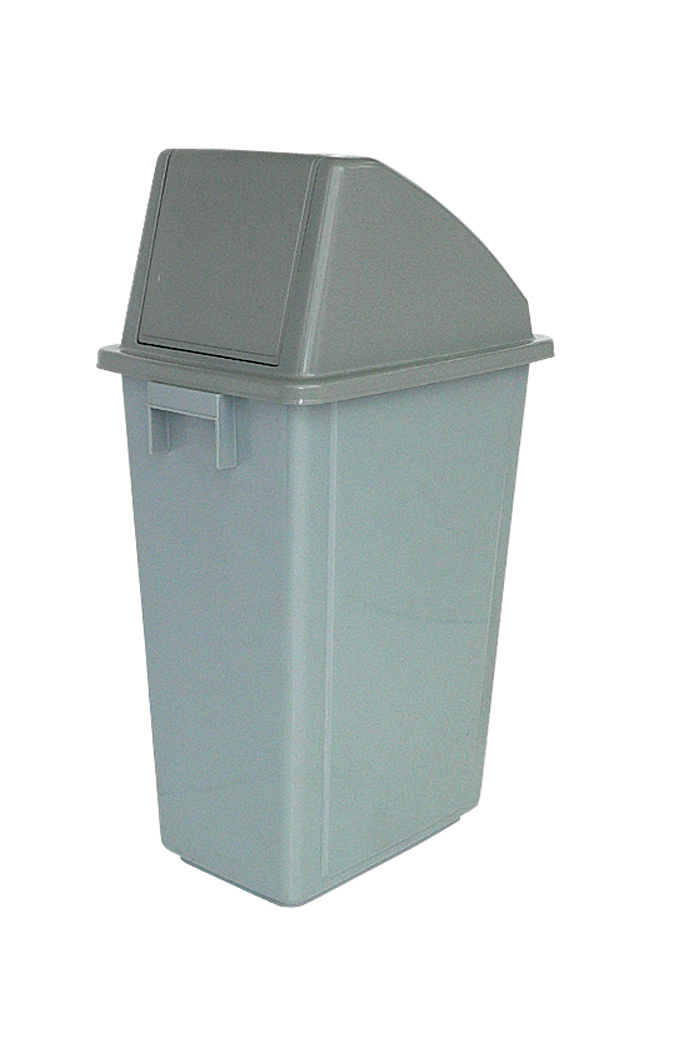 Image for Recycling Bin 58 Litres with Grey Standard Top