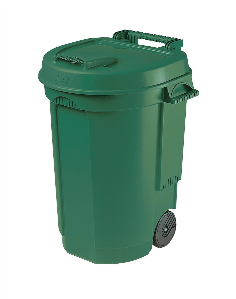 Image for Dustbin with Wheels 110 Litres
