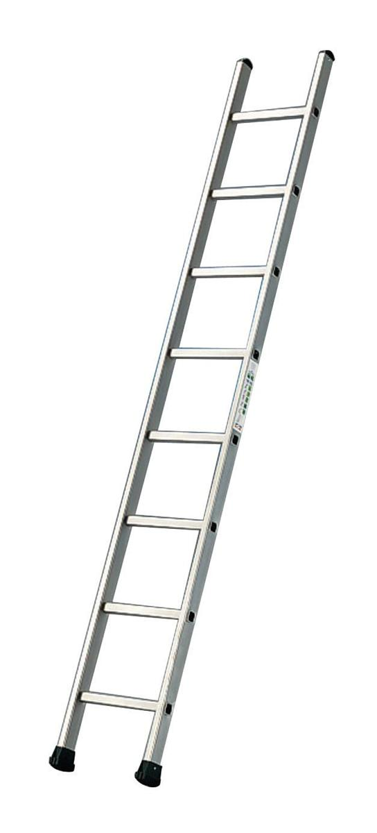 Image for Aluminium Ladder Single Section 8 Rungs