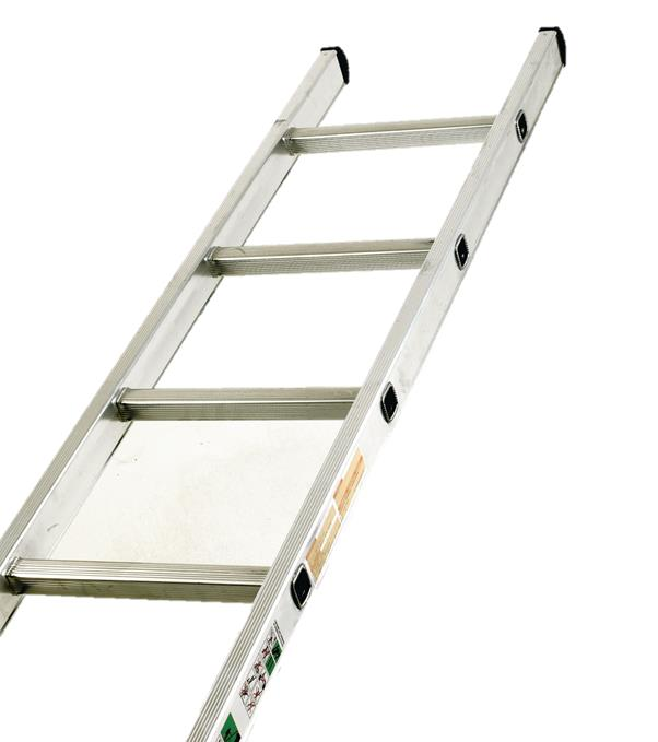 Image for Aluminium Ladder Single Section 10 Rungs