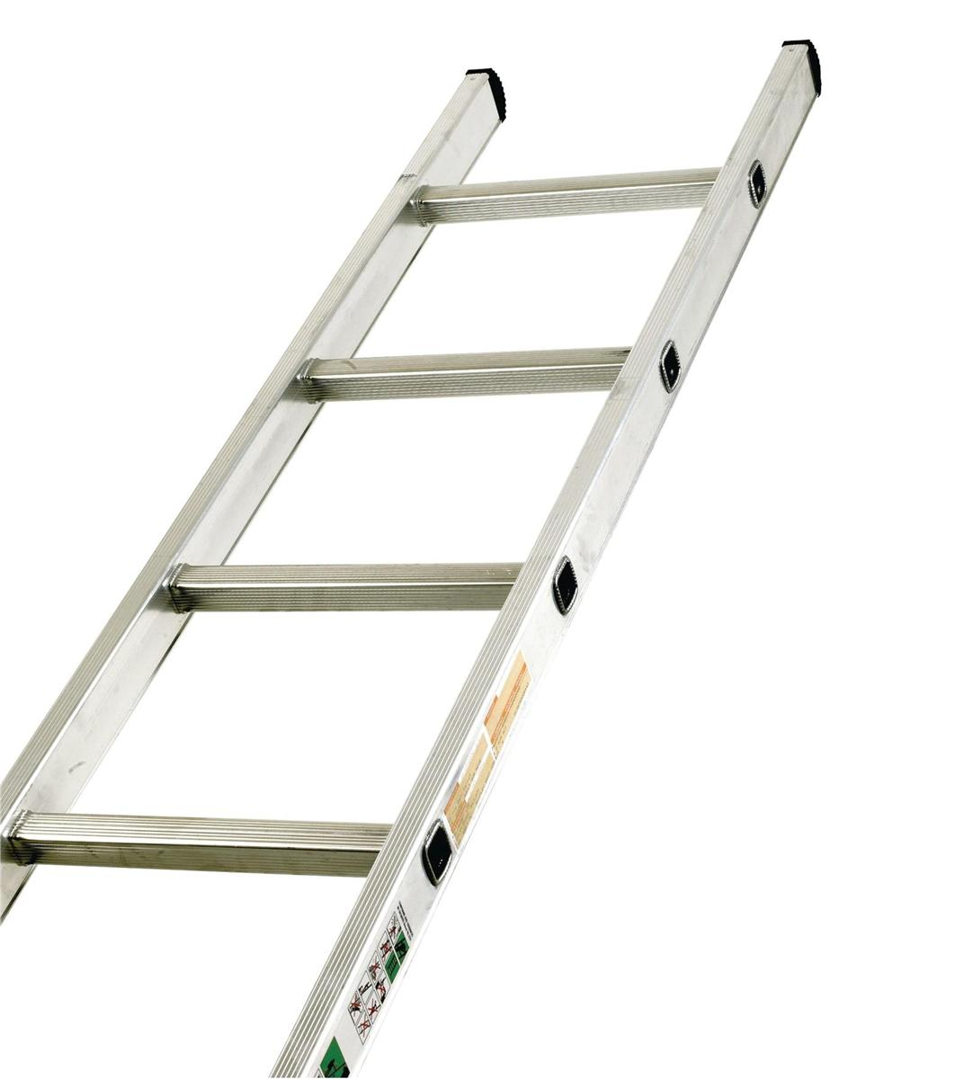 Image for Aluminium Ladder Single Section 16 Rungs