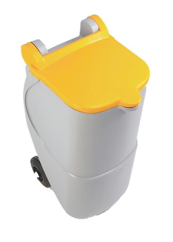 Image for Designer Recycling Wheelie Bin 90 Litres