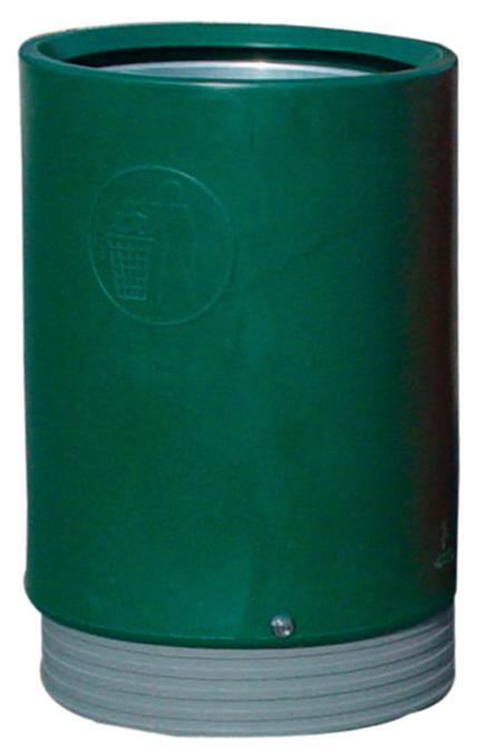 Image for Open Top Bin Dark Green