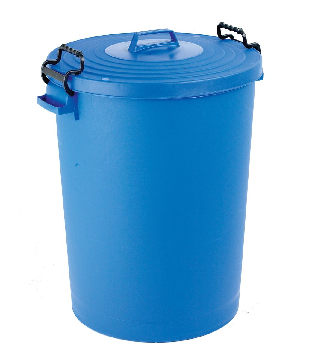 Image for Dustbin with Blue Lid 110 Litres