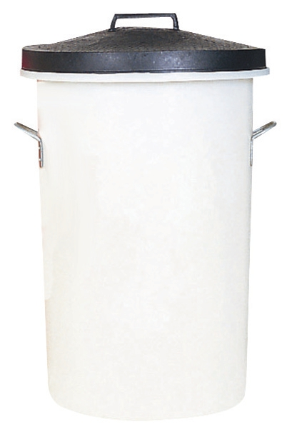 Image for Dustbin Heavy Duty 85 Litres White