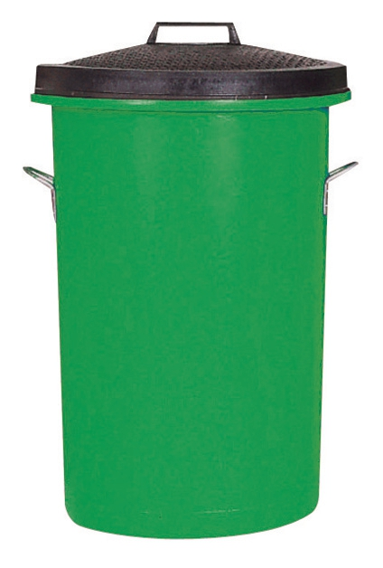 Image for Dustbin Heavy Duty 85 Litres Green