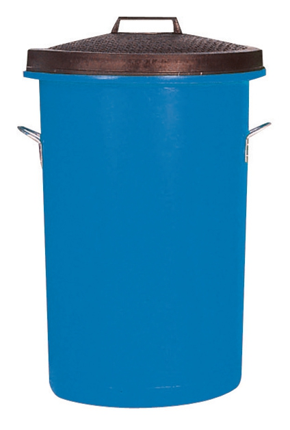 Image for Dustbin Heavy Duty 85 Litres Blue
