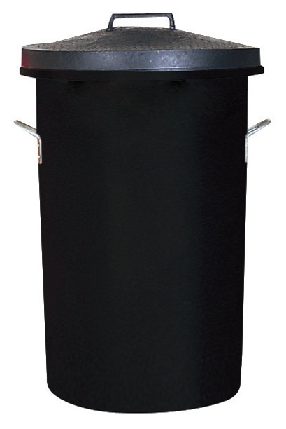 Image for Dustbin Heavy Duty 85 Litres Black