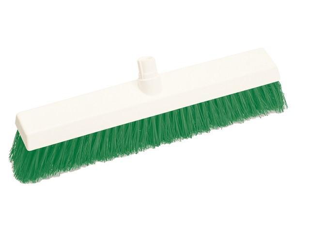 Scott Young Research Hygiene Broom Hard 12 inch Green Ref 4028215