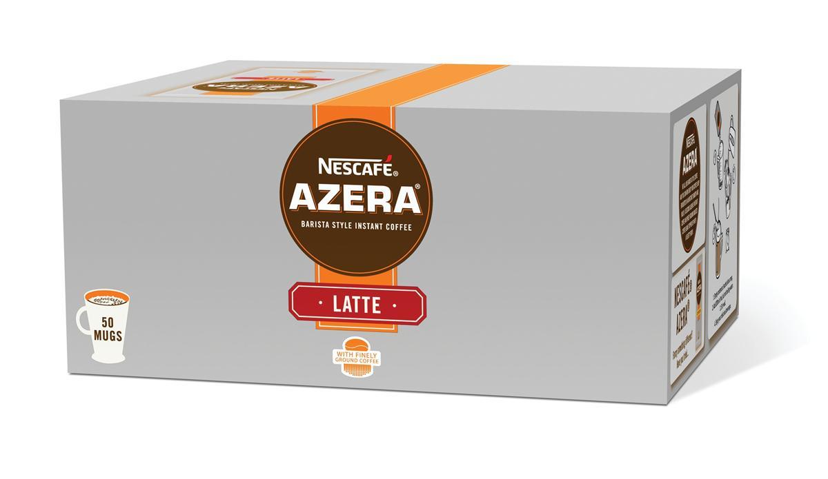 Nescafe Azera Latte Coffee Sachets Ref 12262457 [Pack 50]