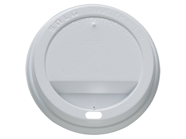 Ripple Lids for 12oz 350ml Ripple Cups Brown [Pack 1000] Ref 4028227