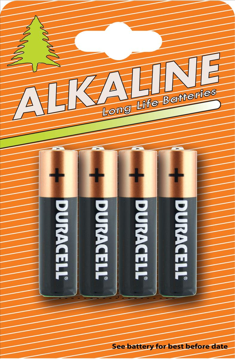Image for Duracell Plus Power Battery Alkaline AA Ref AADURC [Pack 4]